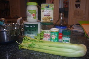 ingredients for mock tuna salad