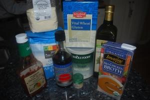 Ingredients for Seitan