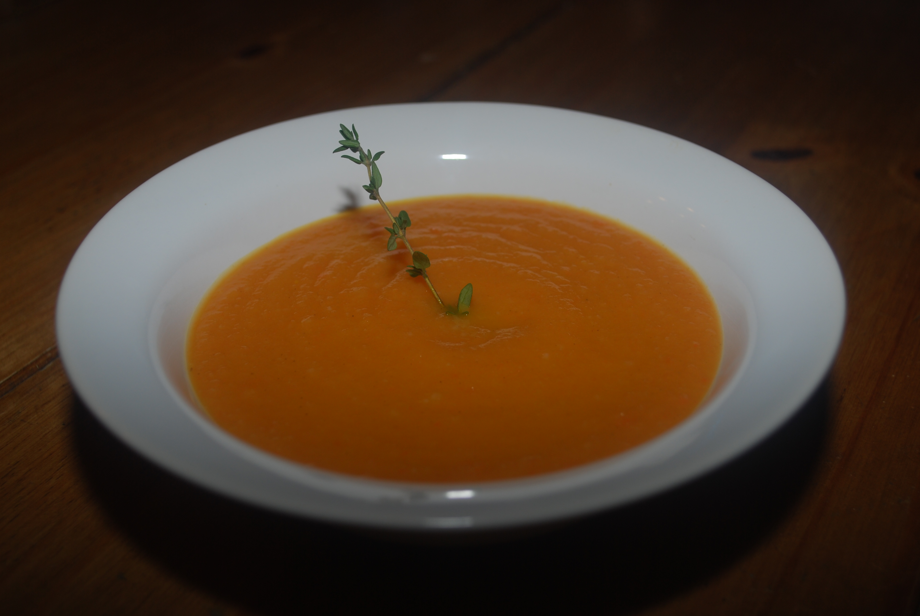 Creamy Carrot Soup | Vibrantly Vegan