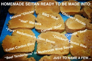 seitan recipes
